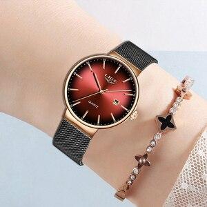 Image 3 - LIGE Brand Luxury Women Watches Fashion Quartz Ladies Watch Sport Relogio Feminino Clock Wristwatch for Lovers Girl Friend 2019