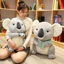 Brinquedos de pelúcia koala, grande, macio, urso, brinquedos de pelúcia, aventura, boneca koala, kawaii, simulação, mãe, crianças, koala, presente de natal e aniversário, crianças, bebê