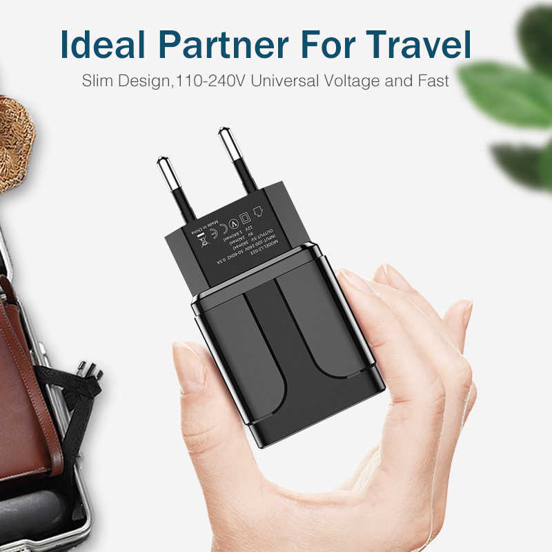 ROCK Pengisian Cepat 3.0 Cepat USB Charger QC3.0 Dinding Charger Ponsel untuk iPhone X Xiao Mi Mi 9 Tablet ipad UE QC Pengisian Cepat
