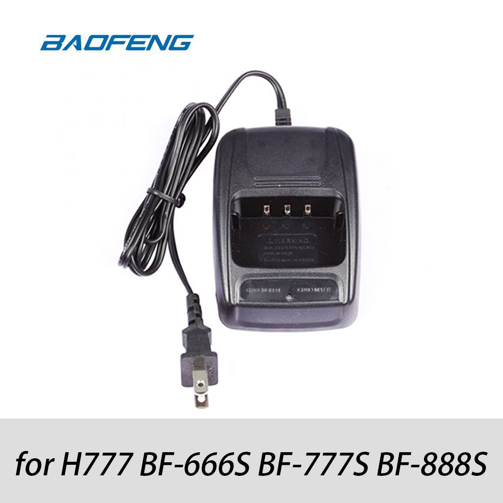 Baofeng Original Desktop Charger For H777 BF-666S BF-777S BF-888s High Quality Original Accessories Two Way Radio Walkie Talkie