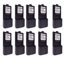 BAOFENG UV-5R Battery 3800mAh for UV5R UV 5r RD-5R UV-5RTP UV-5R Plus F8+ F8HP BL-5 Extended Walkie Talkie Original 10 Piece(China)
