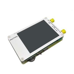 Image 2 - NanoVNA analizador de red vectorial, blanco, 2,8 pulgadas, LCD táctil, HF, VHF, UHF, UV, 50KHz 300MHz, Analizador de antena + batería