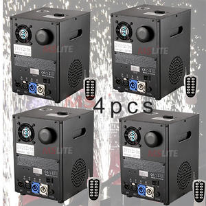 Cold-Firework-Machine for Wedding And Party DJ 4PCS Stage-Effects Low-Smoke