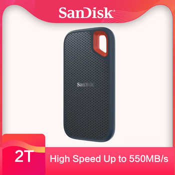 SanDisk External Solid State Disk hdd SSD 500GB 1TB 2TB USB 3.1 TypeC external hard driv for Laptop Mac system 500M/S