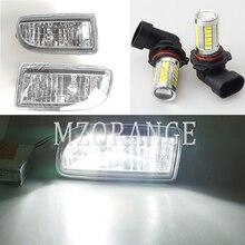 สำหรับLAND CRUISER 100ไฟตัดหมอกLEDไฟหน้าสำหรับToyota LAND CRUISER 100 LC100 1998 2007 HDJ100ฮาโลเจนFoglightsหมอก