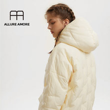 Allure Amore Causale Hooded Dames Jas Lange Jassen Parka Oversize Jacket Vrouwen Winter Dikke Jas Donsjack Vrouwen Winter(China)