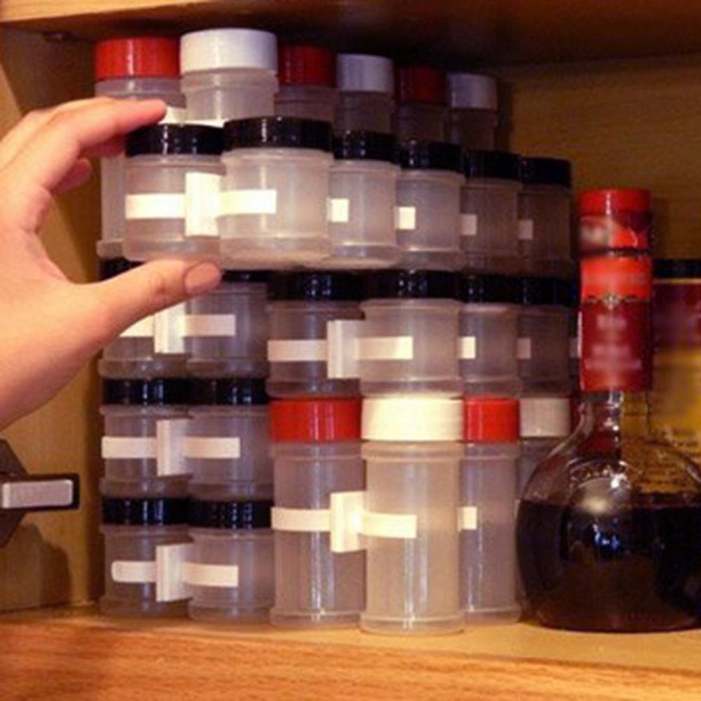 2/4pcs Kitchen Cabinet Door Spice Clip Organizer Storage Rack Shelf Spice Seasoning Carrier Condiment Bottle Holder Gripper Tool