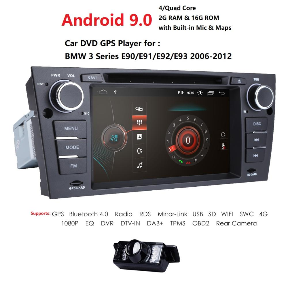 For BMW 3 Series E90//E91//E92//E93 2006-2012 Dashboard Trim Kit 18 Pcs Carbon Look