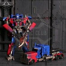 COMIC CLUB Weijiang película estudio serie SS05 SS 05 OP pequeña versión transformación metal aleación piezas acción figura robot juguete