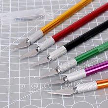 Metal Carving Kit Utensils with Non-slip Blades Scalpel for Mobile Phone PCB DIY Repair Hand Tools