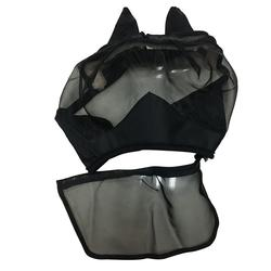 Съемная Сетчатая Маска для лошади, маска для лошади, полная маска для лица, Москитная