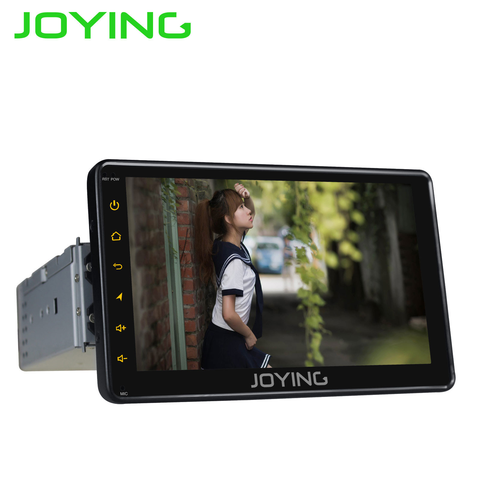 "Sale JOYING 7"" Android 8.1 1 din Car Radio 2GB+32GB Octa Core GPS DSP universal head unit stereo autoradio SWC Fast Boot Mirror link 4"
