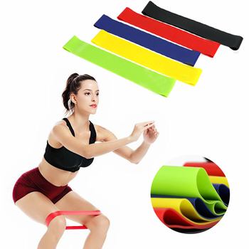 5PCS Yoga Resistance Bands Strength Training Body Pilates Strength TrainingStretching Rubber Loop Exercise Fitness Equipment exercise fitness yoga resistance bands expander equipment fitness gym strength training loop band yoga pilates physical therapy