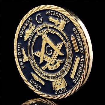 New Hot Freemasonry Masonic Challenge Coin Freemasons Brotherhood The Fatherhood Of God Mason Commemorative Coins Collectible low price coins big discount custom personalized coins wholesale usa challenge coin cheap us military coins