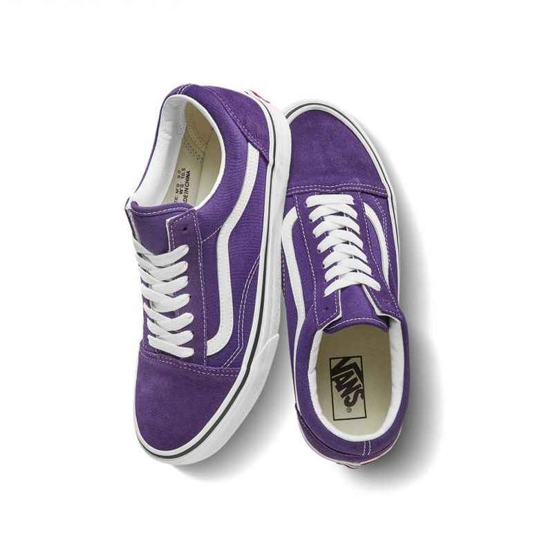 VANS OLD SKOOL Men and Women Shoes Classic Original Authentic Outdoor Sports Street Fashion Casual Purple 2019 New VN0A4BV5V7F
