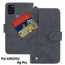 Leather Wallet UMIDIGI A9 Pro Case 6.3