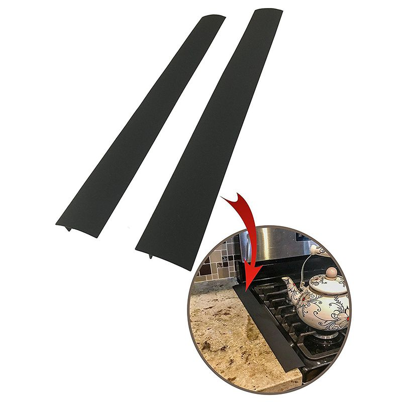 53.5*5.6*1cm Stove Counter Gap Cover Heat-Resistant Oven Slit Fill Strips Long Gap Filler Household Merchandises Kitchen Tools