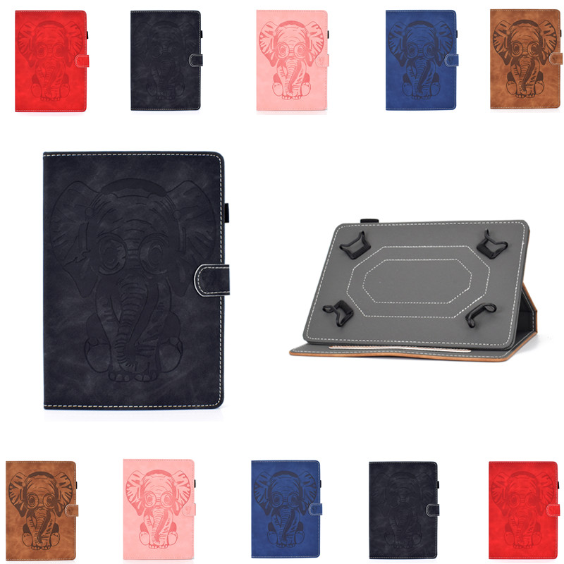PU Universal Case For DEXP Ursus P510 P410 P210 M210 M110 VA210 3G 4G 10.1 inch for <font><b>Digma</b></font> CITI <font><b>1903</b></font> 4G 10.1 inch Tablet Cover image
