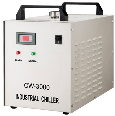 Industry CW3000 Water Chiller For CO2 Laser Engraving Cutting Water Cooling Machine