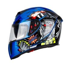 New 310 Racing helmet Modular Dual lens Motorcycle Helmet fu