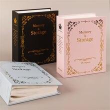 100 bolsos 6 Polegada diy álbuns de fotos do vintage caso de armazenamento scrapbooking foto caso álbum quadro para crianças