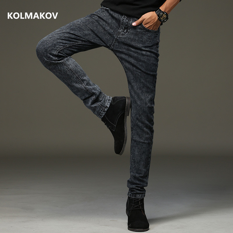 2020 New Spring Arrival Jeans High Quality Casual Slim Elastic Jeans Men ,skinny Jeans Men ,men's Pencil Pants ,size 27-36