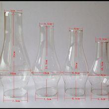 Farol Vintage de calidad, queroseno, lampara de aceite, pantalla de cristal, lámparas de mesa, accesorios de iluminación, piezas de repuesto