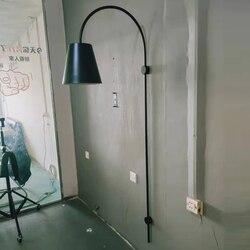Nowoczesne oświetlenie łazienkowe lina nocna sypialnia aleja espelho luminaria de parede w Wewnętrzne kinkiety LED od Lampy i oświetlenie na