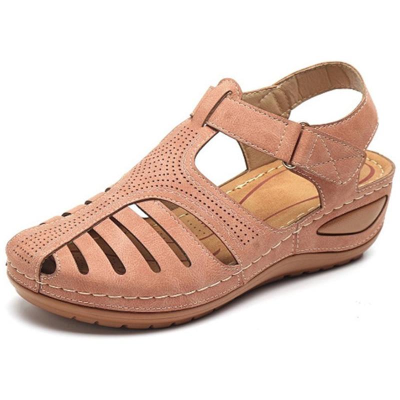 Women Sandals Soft Bottom Wedges Shoes Women Summer Sandals Wedge Heels Gladiator Sandals Shoes Casual Beach Chaussures Femme