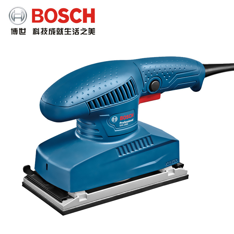 Bosch Electric Sanding Machine GSS2300 Orbital Sander Wood Furniture Polishing Machine Woodworking Sand Mill