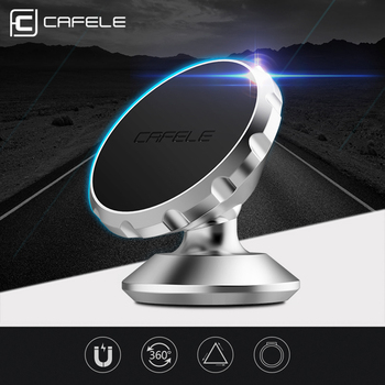 CAFELE Magnetic Car Phone Holder Stand For iPhone Samsung Dashboard Holder Air Vent Grip Mount Universal Magnet Car Bracket image