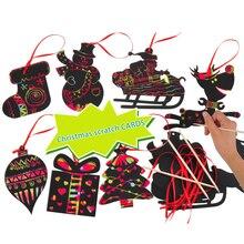 Детские праздничные вечерние украшения для вечеринки, цветные Волшебные рождественские украшения, бумажные милые Подвески в стиле Хэллоуина