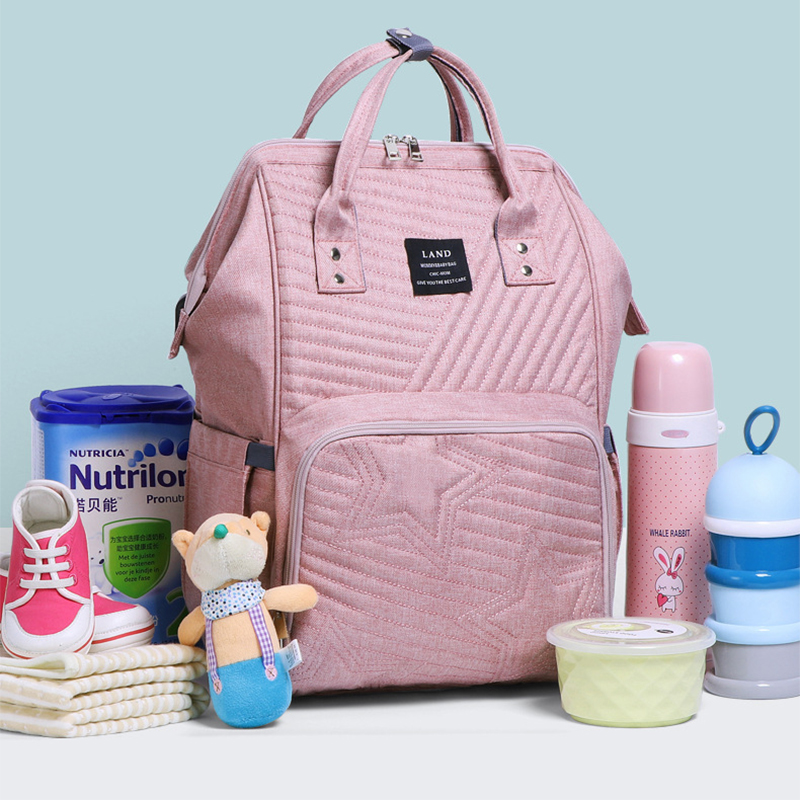 Diaper Baby Bag For Mommy Large Capacity Maternity Nappy Bag For Care Baby Waterproof Handbag Stroller Bag