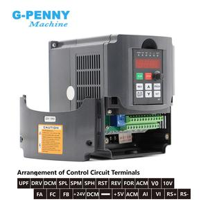 Image 5 - 220V 800W ER11 water cooled spindle motor water cooling & 1.5kw VFD inverter Variable Frequency Drive CNC Spindle speed control