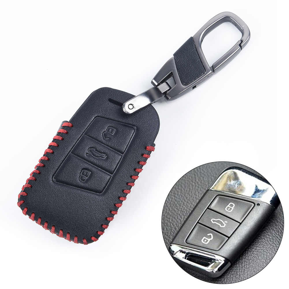 Keychain Car key case For PASSAT B8 ARTEON Tiguan MK2 Remote Useful New