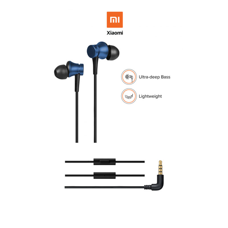 100% Official original xiaomi piston 3 earbuds earphone fresh youth version 3.5mm in-ear headset wire-controlled with Microphone 8