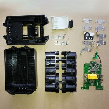 Replacement Battery Case Charging Protection PCB Circuit Board for MAKITA 18V BL1830 3.0Ah 5.0Ah BL1840 BL1850 Li-ion Battery 18v battery chip pcb board replacement for makita bl1830 bl1840 bl1850 lxt400 tn99