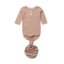 Милый хлопковый мягкий полосатый спальный мешок для новорожденных девочек с русалочкой, Пеленальное Одеяло, спальный конверт для малышей