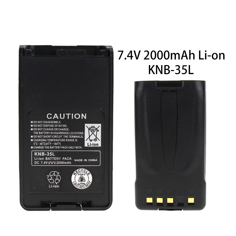 KNB-35L Battery Replacement For Kenwood TK-3360, TK-3160, TK-2170, KNB-57L, TK-3173, TK-3170, TK-2360, NX-320, TK-3140, TK-2160