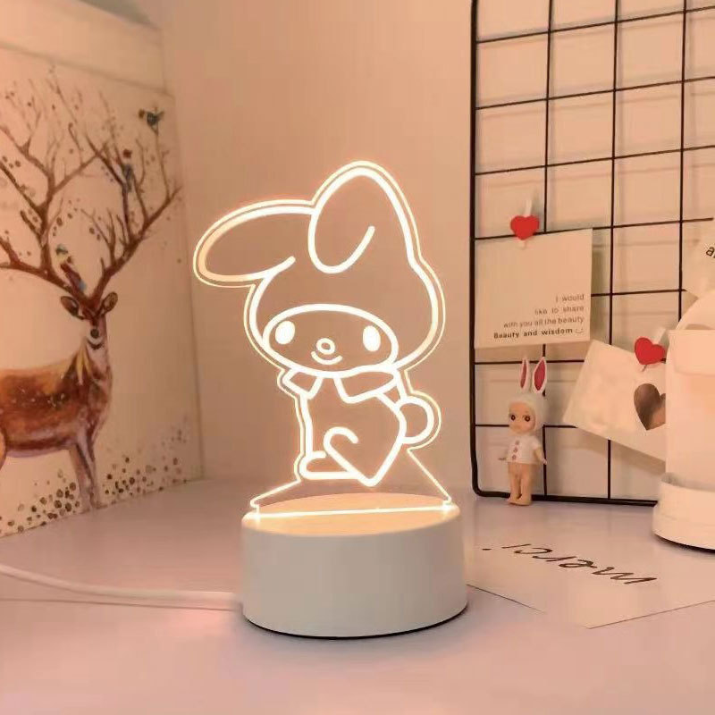 Kawaii Sanrio 3D Night Light/Lamp 5
