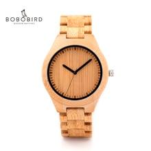 BOBO BIRD Wooden Watch Men relogio masculino Timepieces Japan Movt 2035 Quartz