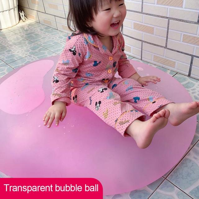 Bola inflável mágica de ar inflável, balão inflável super grande com S-XXL jogos de festa, brinquedo para água