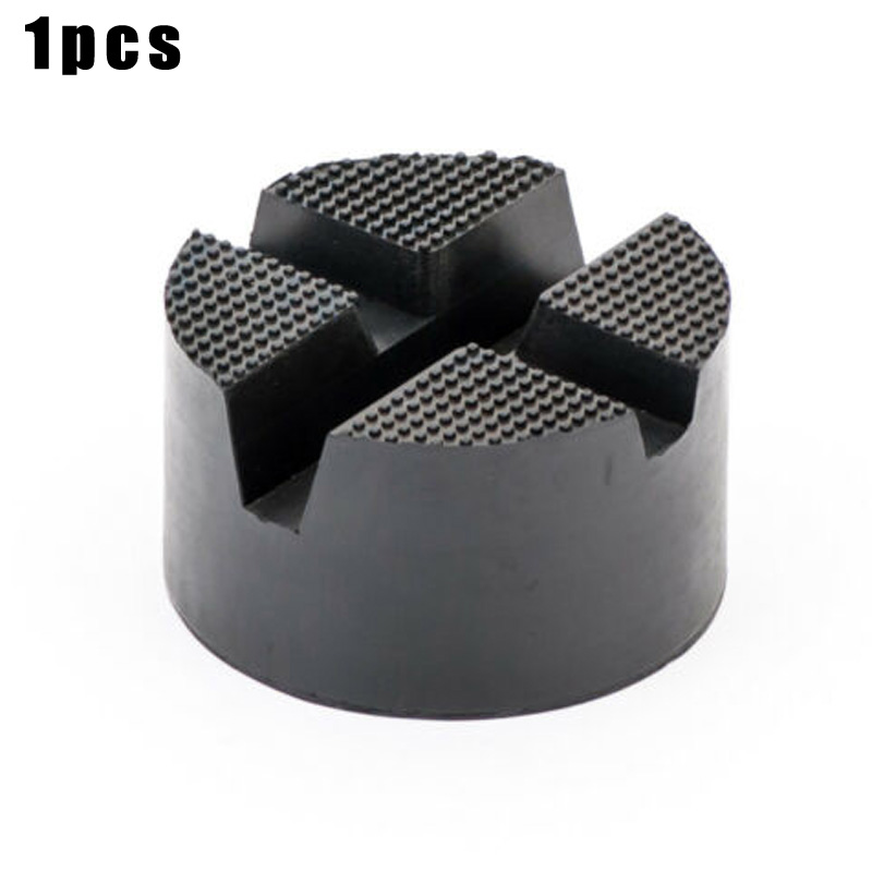 Car Jack Mount Rubber Block Pad Lifter Adapter High Quality 82x45mm With Recess Jack Mount Rubber Block Pad Adapter
