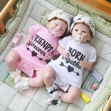 Girl Dolls Toys Toddler-Doll Cloth Body Baby 55cm Original NPK for Bebe