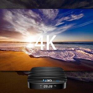 Image 3 - Android TV Box Android 10 4GB 32GB 64GB 4K H.265 lecteur multimédia 3D vidéo 2.4G 5GHz Wifi Bluetooth RK3318 Smart TV boîtier décodeur