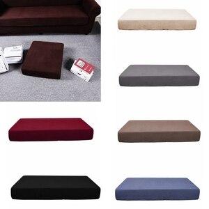Чехол на подушку сиденья из жаккардового спандекса, индивидуальная замена на 1/2/3 сиденья