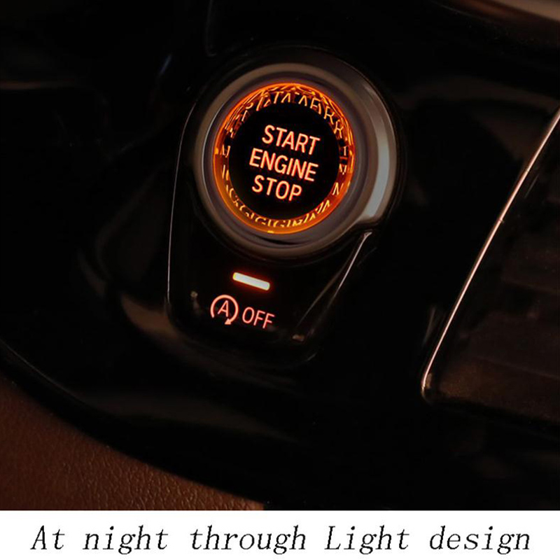 Image 3 - Car Engine Start Switch Button Crystal Cover For BMW E90 E60 E91 E92 E93 Z4 E89 X5 E70 X6 E71 E72 X1 E81 E87 E84 E83 Accessories-in Car Stickers from Automobiles & Motorcycles