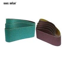 Абразивные шлифовальные ленты A/O, 457*75 мм, 1 шт., для дерева, мягкой полировки металла, 18*3 дюйма ZA, для шлифовки твердых металлов