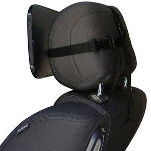 Image 2 - Grande Tamanho Ajustável Grande Assento de Carro de Volta Retrovisor Bebê Criança Crianças Assento de Segurança Encosto De Cabeça Do Monitor Auto Acessórios Interiores
