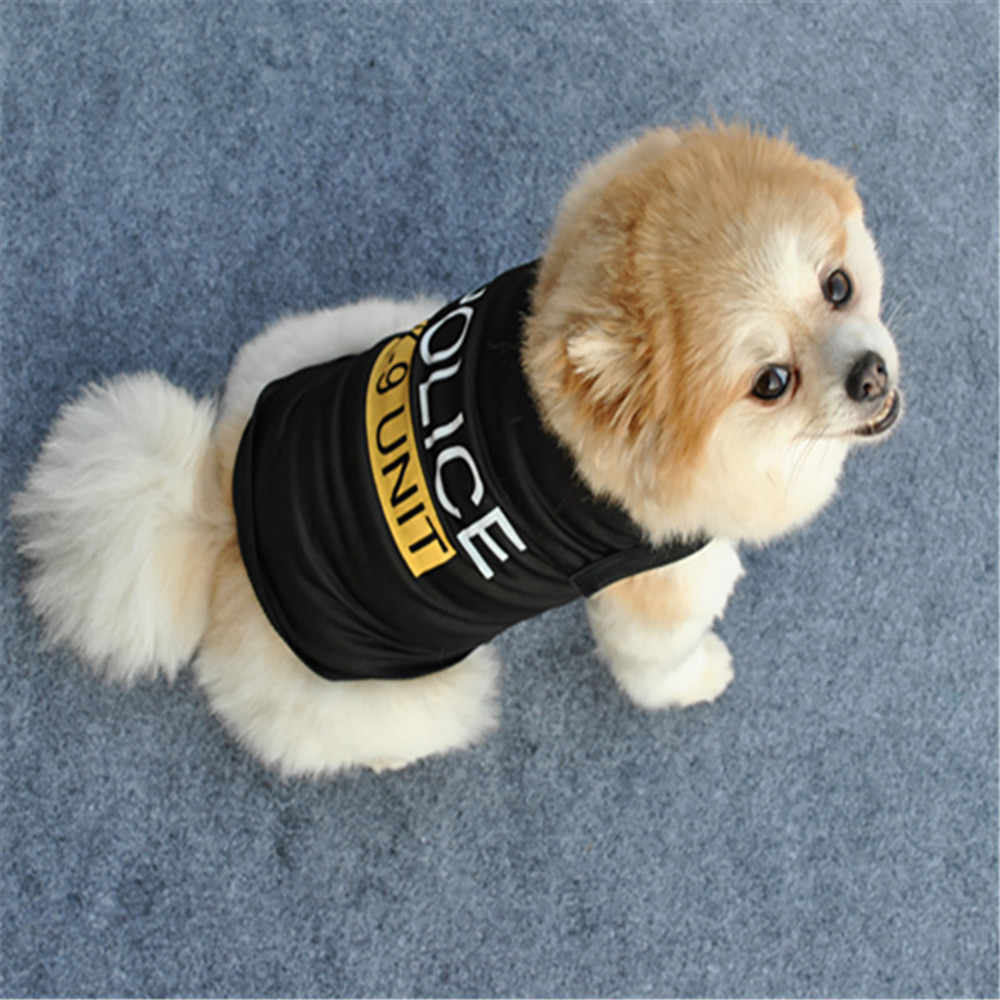 Unisex Pet Clothes Puppy Dog Cat Vest T Shirt Apparel Clothing For Small Dogs Cartoon Vest For Puppy Pet Cat Clothes Summer Vest
